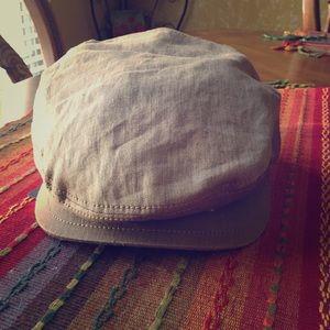 Prada newspaper boy hat
